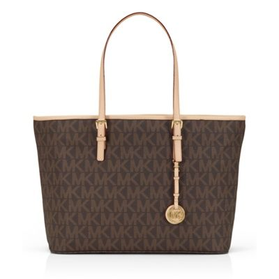 MICHAEL Michael Kors 11-tums Saffiano Jet Set Travel Tote - Apple Store (Sverige)