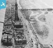 Blackpool Tower and the Promenade, Blackpool, 1920