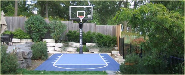 Sport Court Ontario Game Courts Tennis Basketball Indoor Court Deck Resurfacing Serving Barrie Mu Basketball Court Backyard Backyard Basketball Backyard Sports