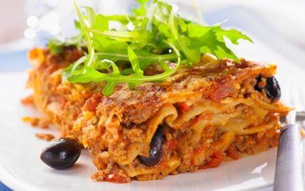 nyttig lasagne med keso