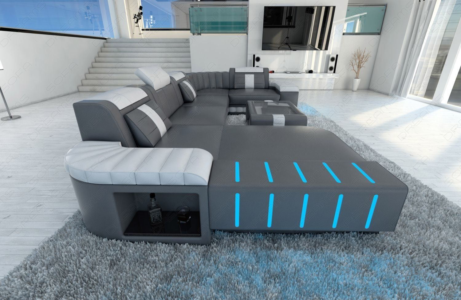 Xxl Sectional Sofa Jacksonville Led Lights U Shaped Pin By Crack For Men On Man Cave Sectional Sofa Cool