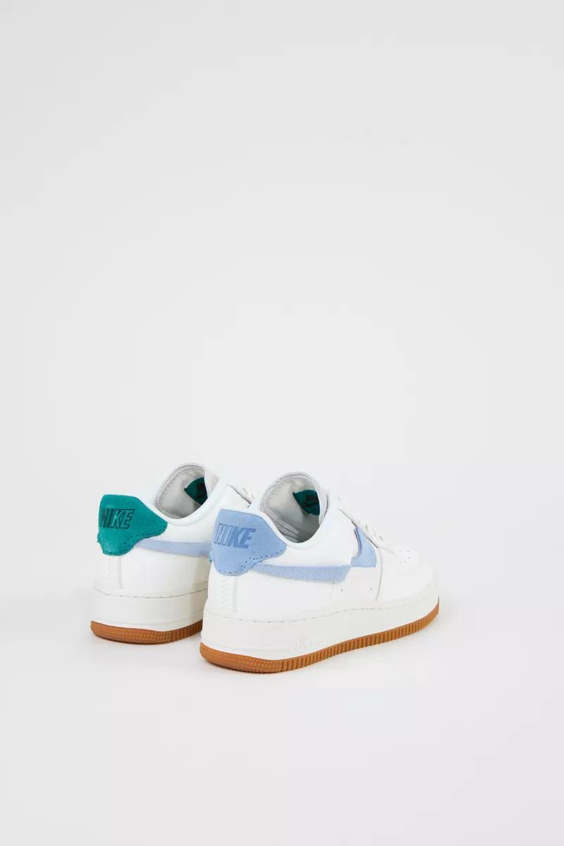 Nike Plateau Sneaker Air Force 1 Weiss Blau Grun Neu Sneakers Men Fashion Sneakers Men Shoes Mens