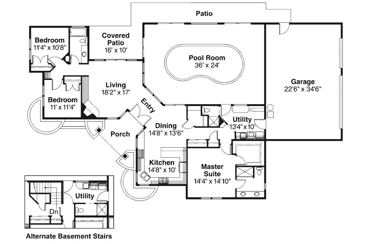 Indoor Pool Floor Plans Indoor Pool House Pool House Plans Swimming Pool House