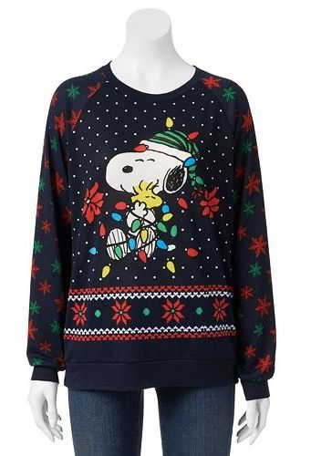 Freeze Ugly Christmas Sweatshirt Juniors Clothes Accesories