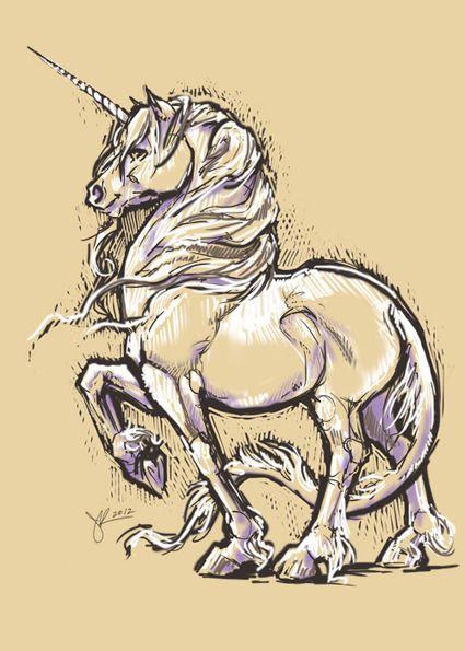 The Art Of Jennifer Kearney Unicorn Art Unicorn Drawing Horse Art