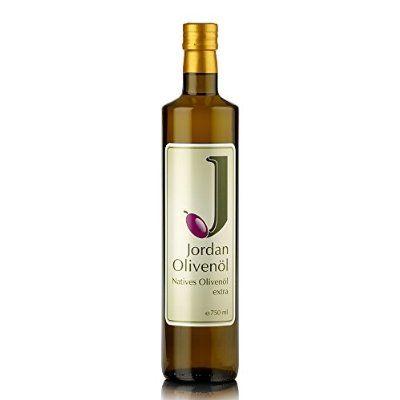 Jordan Olivenöl Natives extra - 0.75 L Flasche, 1er Pack (1 x 750 ml)