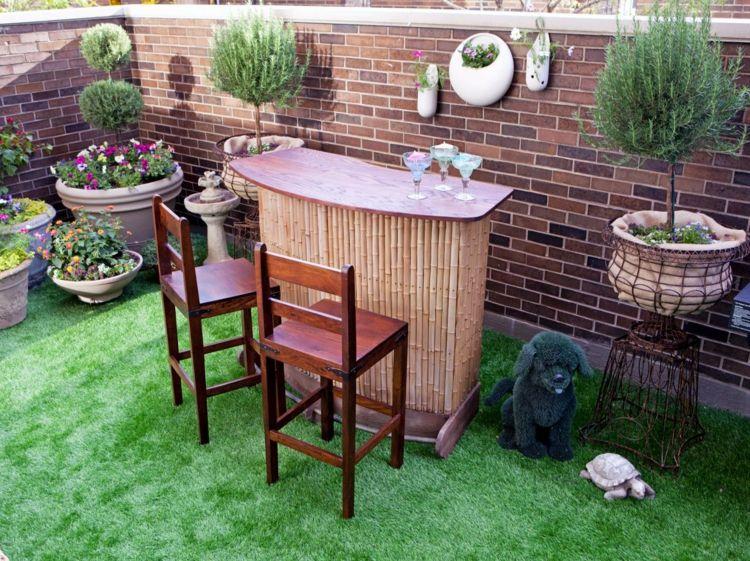 Stehtisch Fur Garten 16 Ideen Fur Dekorativen Und Nutzlichen