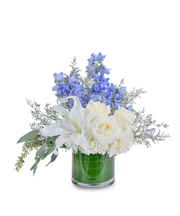 Calm and Cool New baby flowers, Flower arrangements