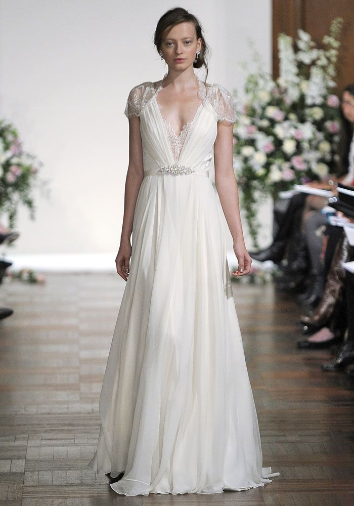 Jenny Packham Fall 2013. Photo by FirstView.