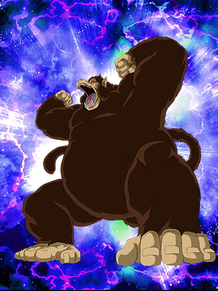 Full On Strike Goku Youth Giant Ape Dragon Ball Dragon Ball Z Dragon