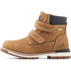 Tom Tailor Kinder Boots mit Klettverschluss, braun, unifarben, Gr.32 Tom TailorTom Tailor #tomwedges