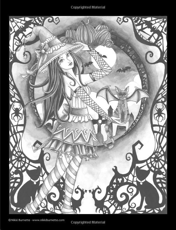 graphic regarding Free Printable Grayscale Coloring Pages referred to as Spellbinding Shots: A Grayscale Myth Coloring Ebook