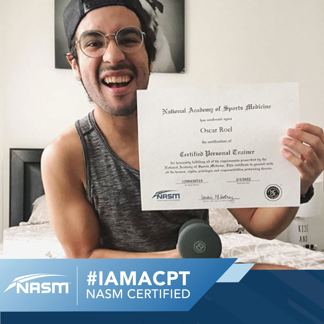 IAMACPT in 2020 Personal trainer, Personal training