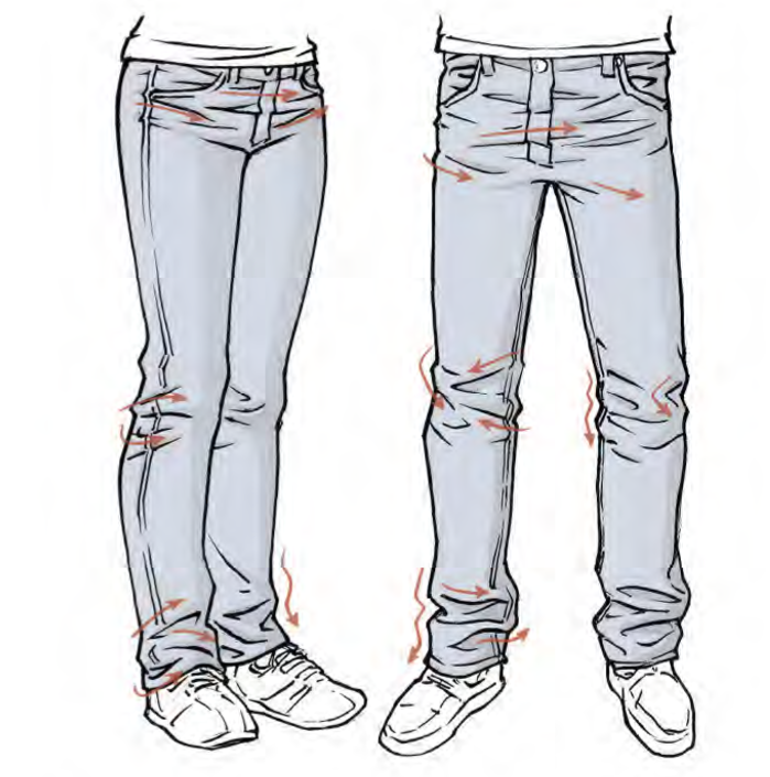 Belongs To Mark Crilley From Mastering Manga 1 Drawing Clothes