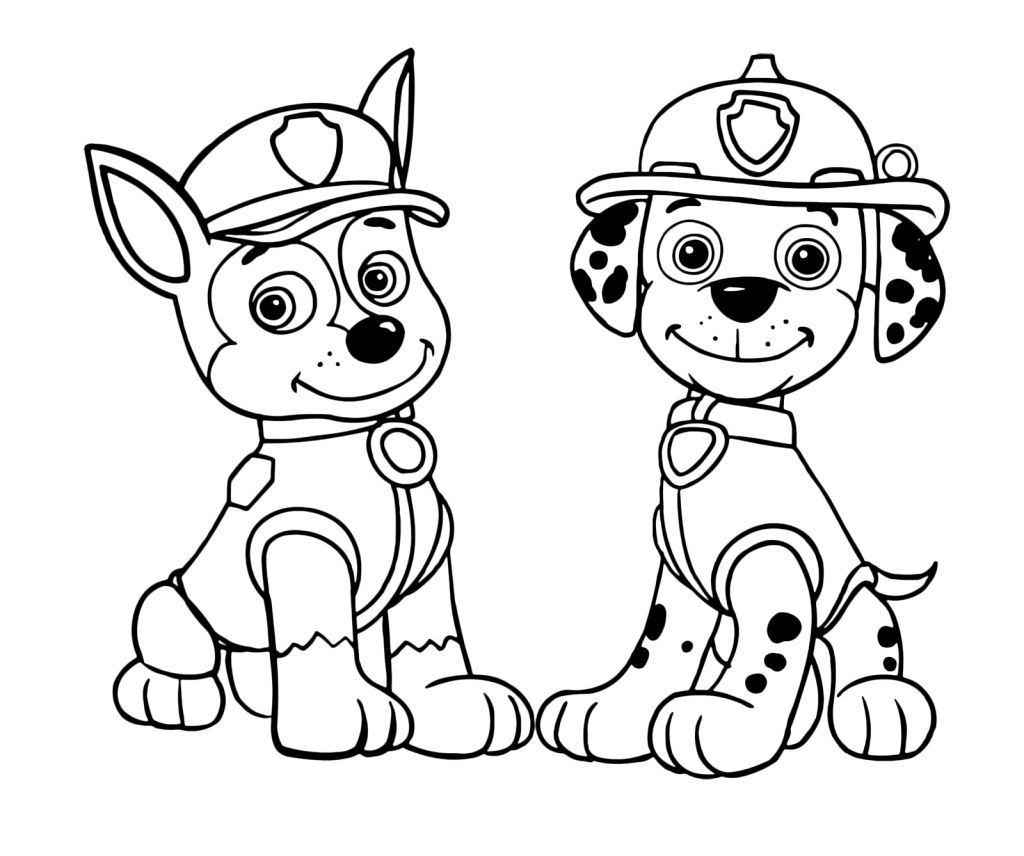 Paw Patrol Coloring Pages Coloring Pages 56 Paw Patrol Coloring
