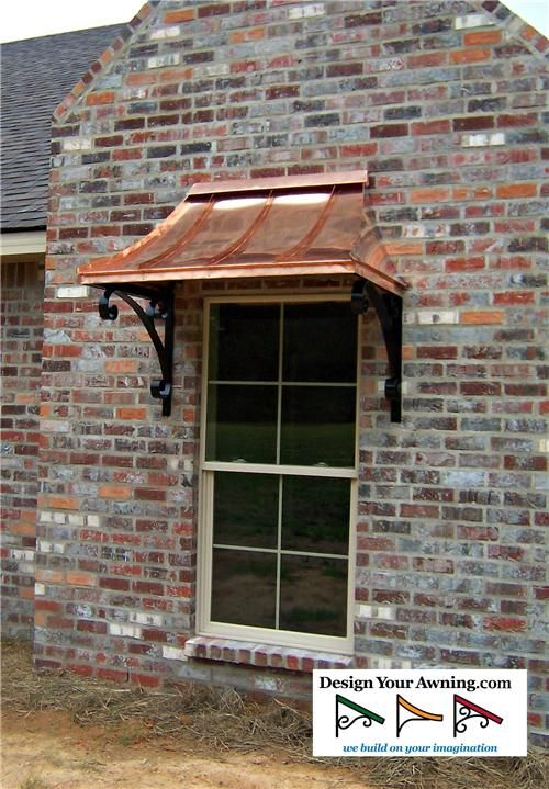 The Copper Juliet Awning Copper Awning Window Awnings Metal Awning