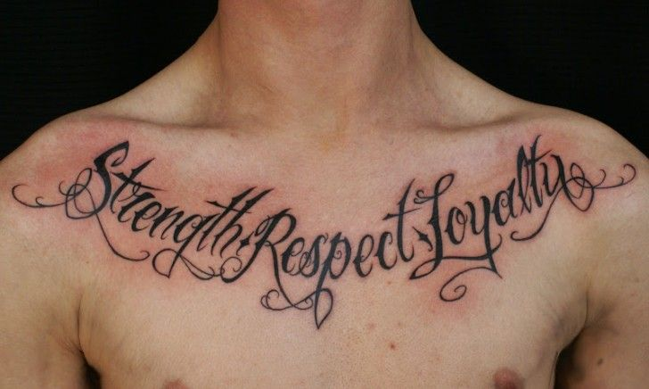 Top Design Quotes About Tattoos Lovely Designs Chest Black Ink