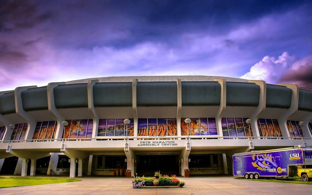 Pete Maravich Assembly Center Pmac Lsu Louisiana State University Football Louisiana State University