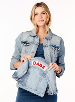 bf66a0ca6c0ec Ingrid & Isabel Babe Light Wash Denim Jacket | Shop Trendy Maternity ...