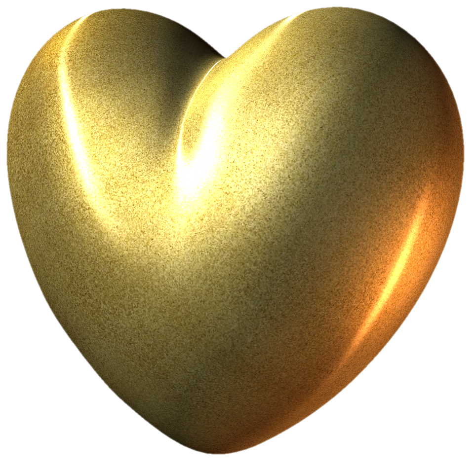 Gold Heart PNG Clipart Picture | HEARTS & BOXES PNG ...