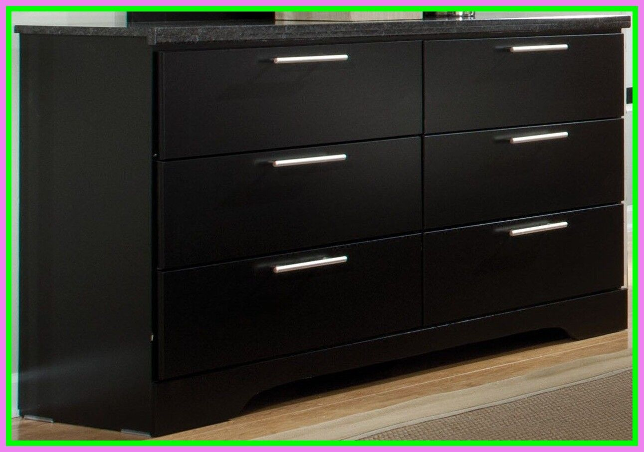 68 reference of dresser Black double dresser in 2020