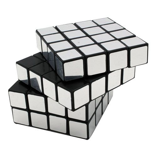 Concept transformation of form through movement and for Mirror rubik s cube