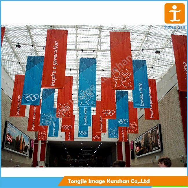 Wholesale High Quality Ceiling Hanging Banner For Promotion
