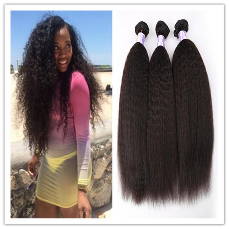 8a Mongolian Afro Kinky Straight Virgin Hair Natural Afro Kinky