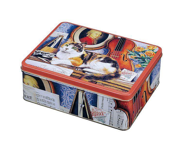 Geoff Tristram Cats - Deep Rectangular