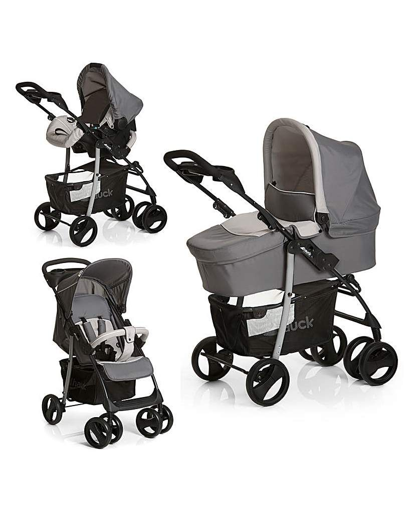 Hartan Baby One Hauck Shopper Slx Trio Set Stone Grey Products In 2019