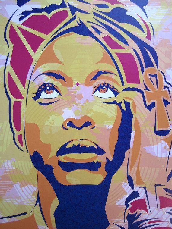 Erykah Badu Baduizm Digital Art Print Digital Art Prints Art