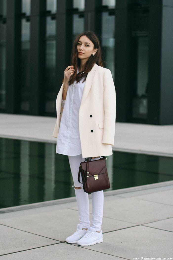 Fashion, Adidas zx flux white