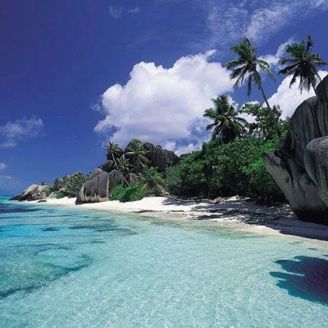 Seychelles Beach: Secluded Beach... #luxury #vacation #couples #CCLuxe