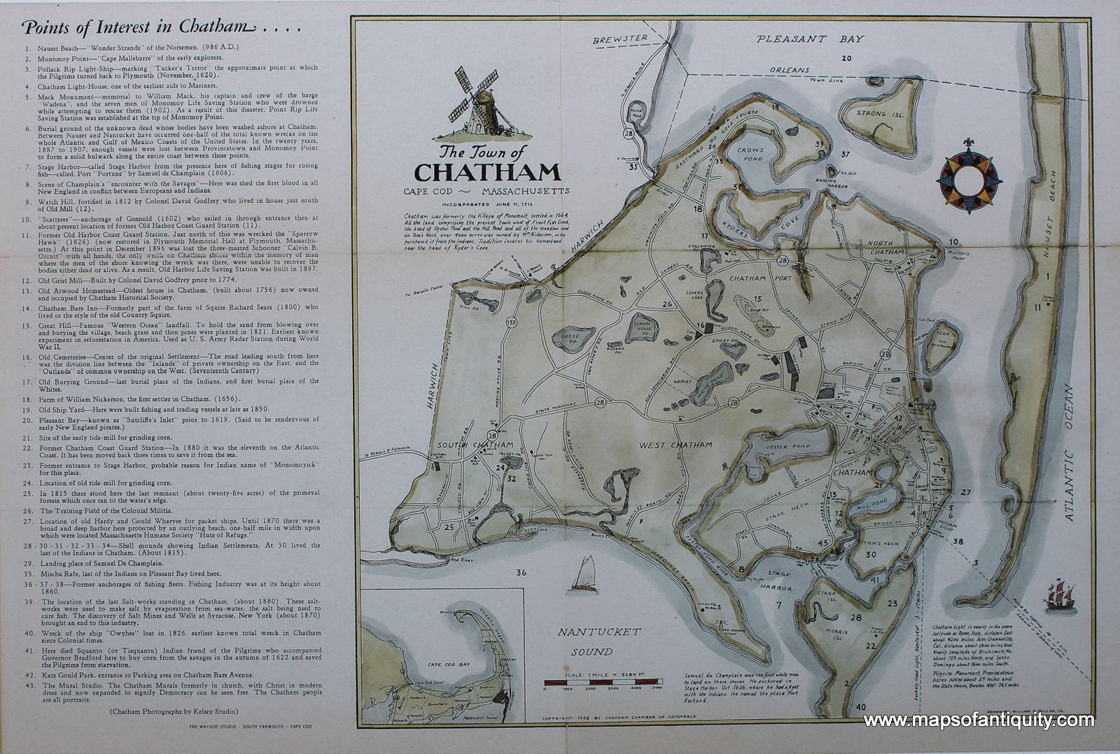 The Town of Chatham, Cape Cod, Machusetts - Reproduction ... Chatham Ma Map on yarmouth ma map, greenwich ma map, millers falls ma map, cape cod map, chatham bars inn, newtonville ma map, chatham mass, attleboro ma map, northumberland ma map, chatham massachusetts, massachusetts ma map, portsmouth ma map, south boston ma map, camp edwards ma map, woodbridge ma map, westfield ma map, dunstable ma map, east orleans ma map, new marlborough ma map, martha's vineyard ma map,