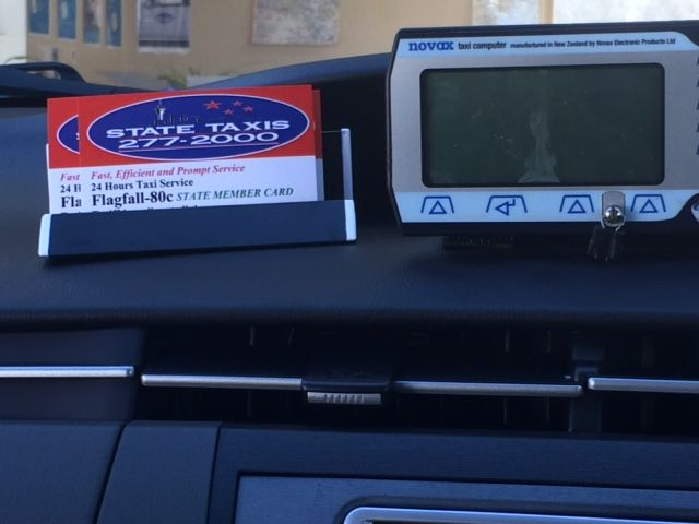 Business Card Holderstand For Your Car Dashboard Displaying Your