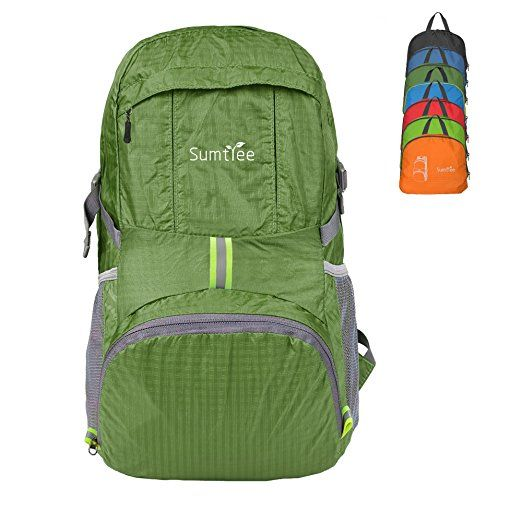 Sumtree 35L Ultra Lightweight Foldable Packable Backpack  cc9820466b2a2