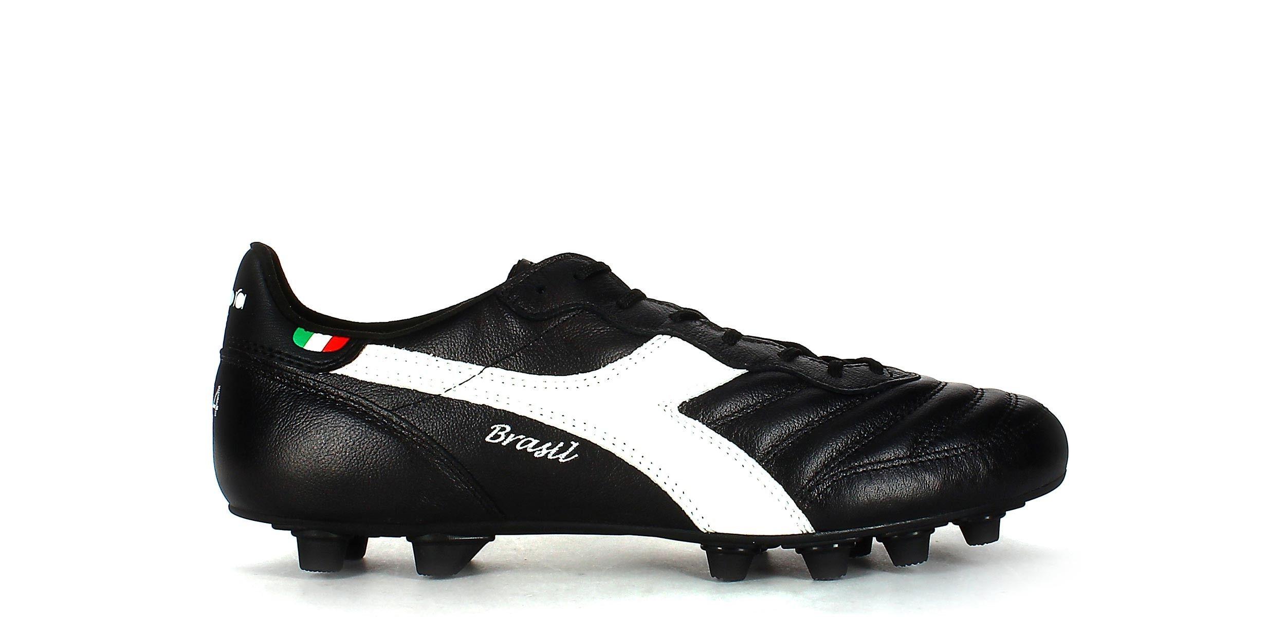 premium selection 8e2bc 1ae98 Diadora Brasil Italy OG MDPU - Negro - Exterior pie derecho Zapatos De  Fútbol, Botas
