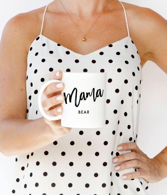 New Mom Gift, Coffee Cup, Mama Bear Mug, Mug for Mama Bear, Mama Bear Design, Mama Bear, Mom Life, N