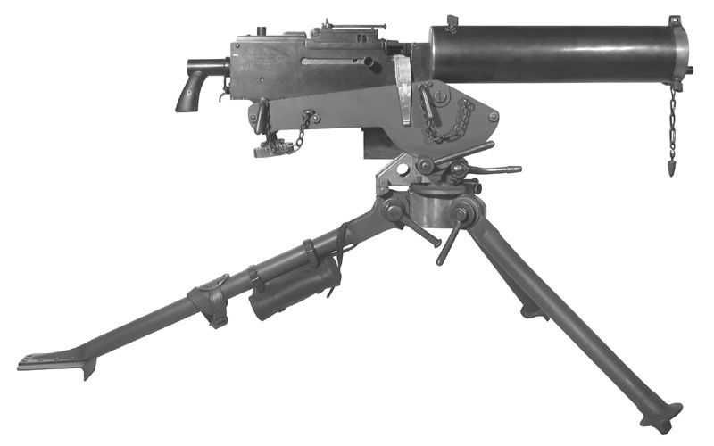 This is a machine gun which was made when ww1 started | weapons of ...