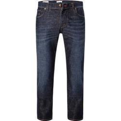 pantalones de mezclilla bugatti hombres, algodón elástico, azul BugattiBugatti