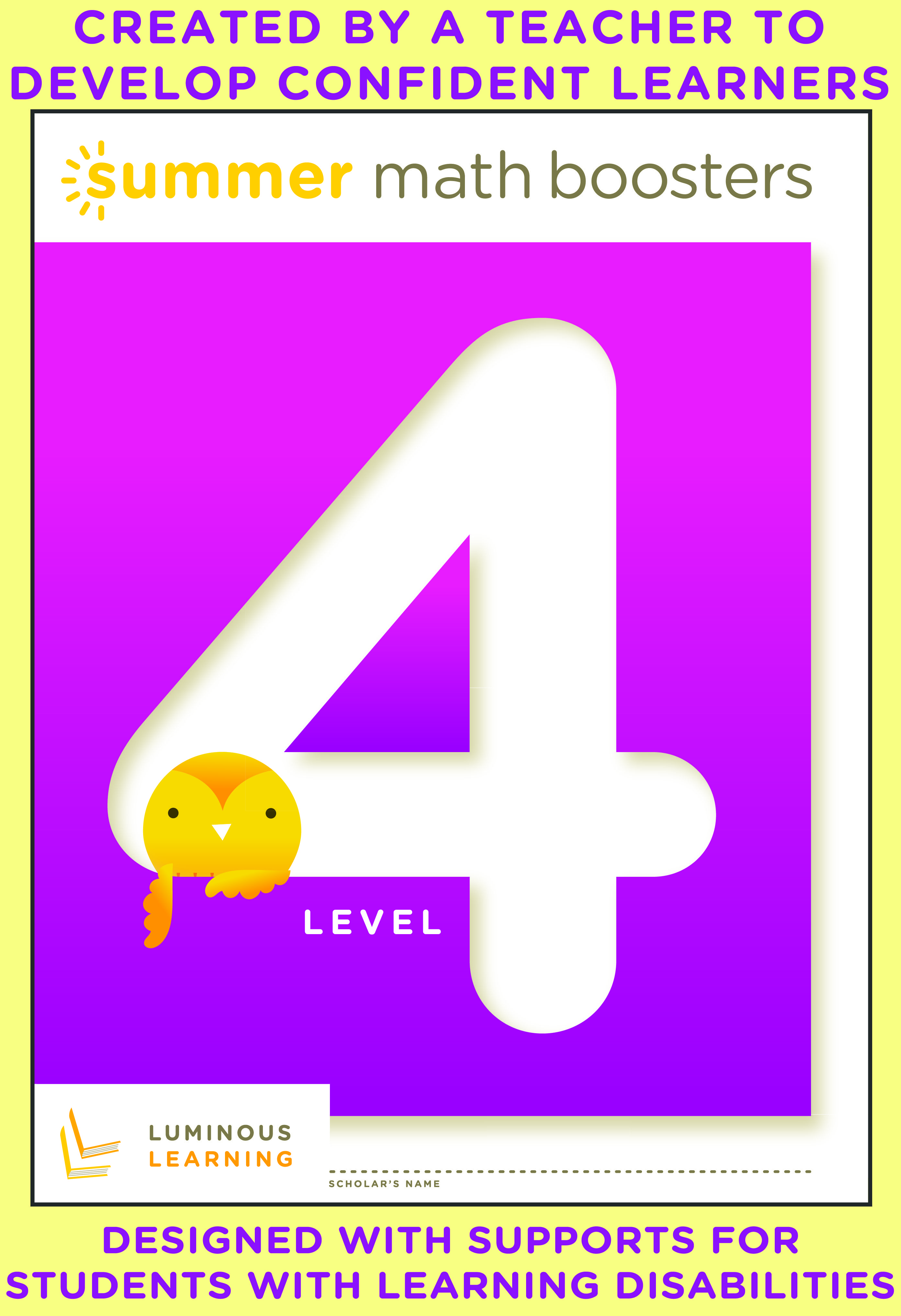 Math Boosters Level 4