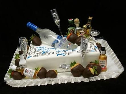 Pin By 34 On 21st Ideas 21st Birthday Cakes Creative Birthday Cakes Birthday Cake For Him