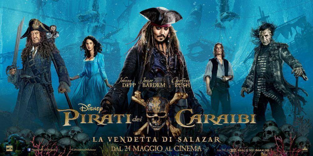 [#BoxOffice Worldwide] Quota 700 milioni per #WonderWoman e #PiratideiCaraibi5