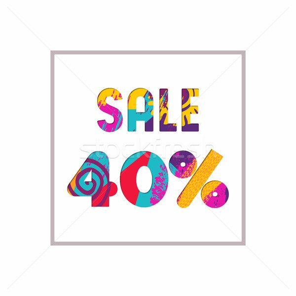 C Stock Quote Awesome Sale 40% Off Color Quote For Business Discount Stock Photo C