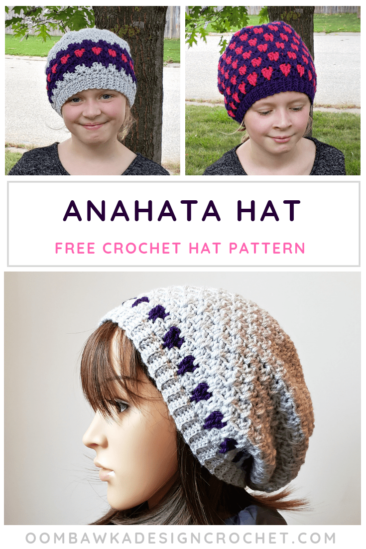 This post includes my Anahata Hat Pattern. This free pattern is available  in 11 different sizes. The Anahata Hat is my contribution to the 2018  Holiday ... 385e262062a