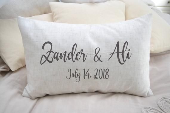 Personalized Pillow, 2nd Cotton
