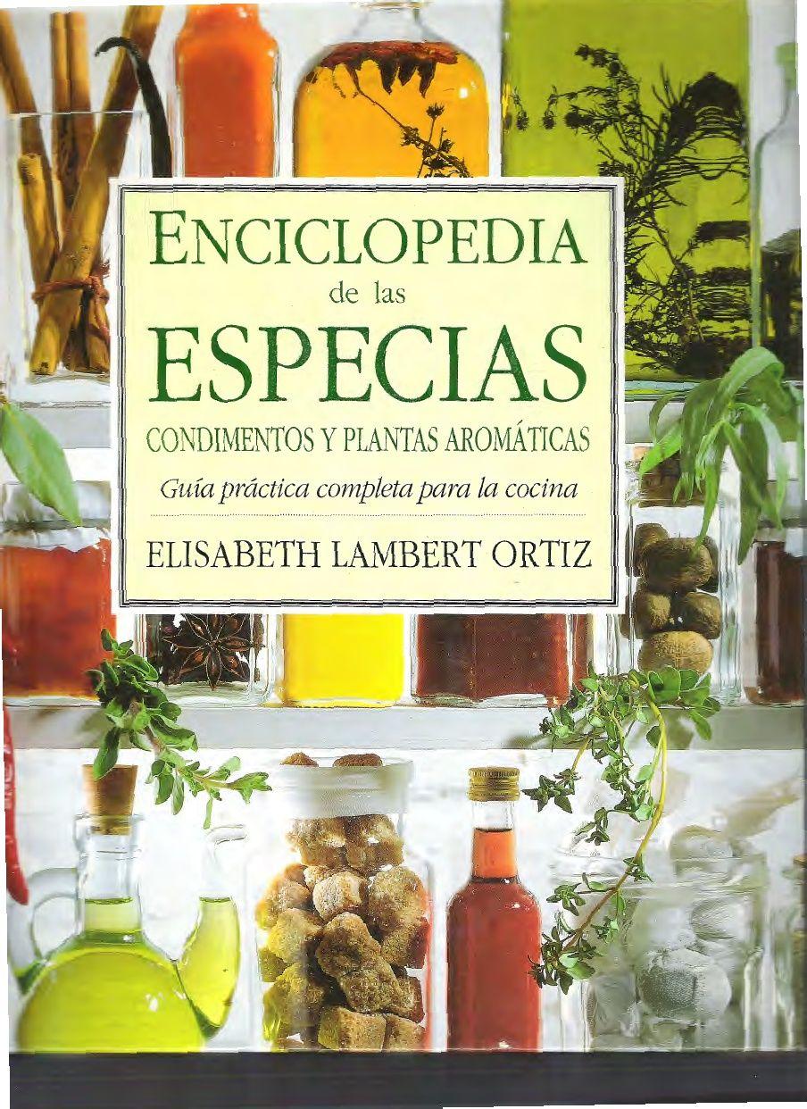 ENCICLOPEDIA DE LAS ESPECIAS.pdf | libros | Pinterest | Especias ...