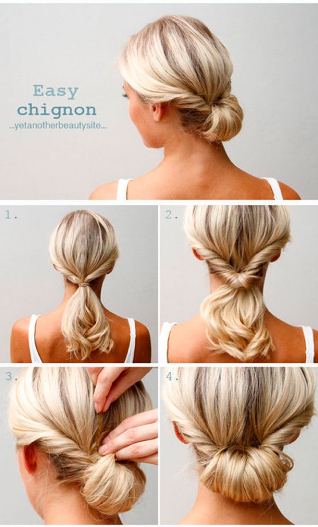 Check out this super quick and easy hairstyle beauty tips