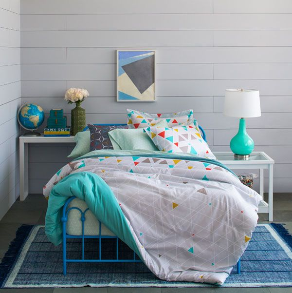 Novogratz New Kids Line Eclectic Bedding Glam Bedroom Home