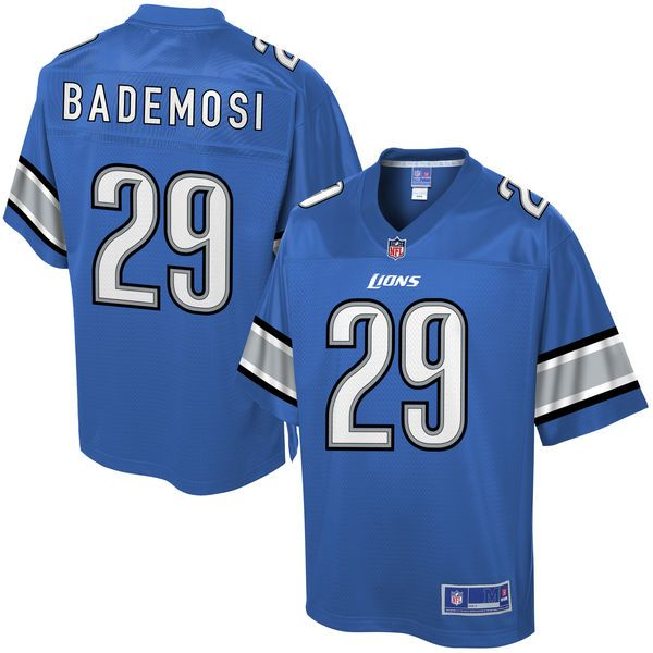 Johnson Bademosi Detroit Lions NFL Pro Line Youth Player Jersey - Blue -   74.99 95317344e